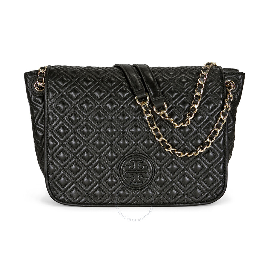 e9c00db09b8f8 Tory Burch Marion Quilted Small Shoulder Bag - Black - Tory Burch ...