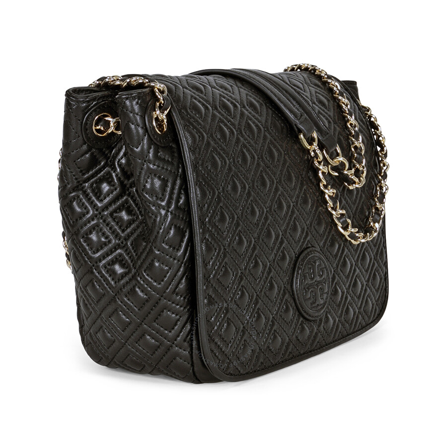 Tory Burch Marion Quilted Small Shoulder Bag - Black - Tory Burch ... : tory burch quilted - Adamdwight.com