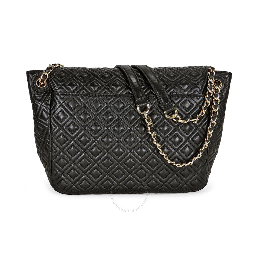 45693fd48783 Tory Burch Marion Quilted Small Shoulder Bag - Black - Tory Burch ...