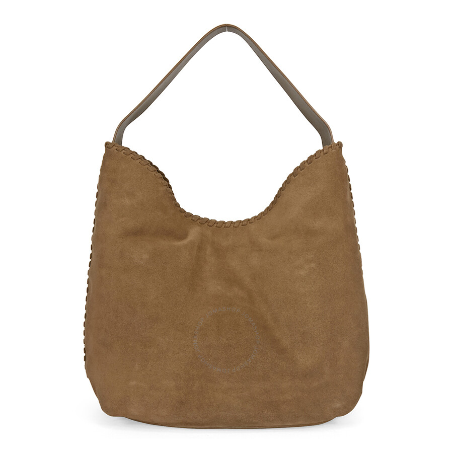 Tory Burch Marion Suede Hobo Bag - River Rock - Tory Burch ...