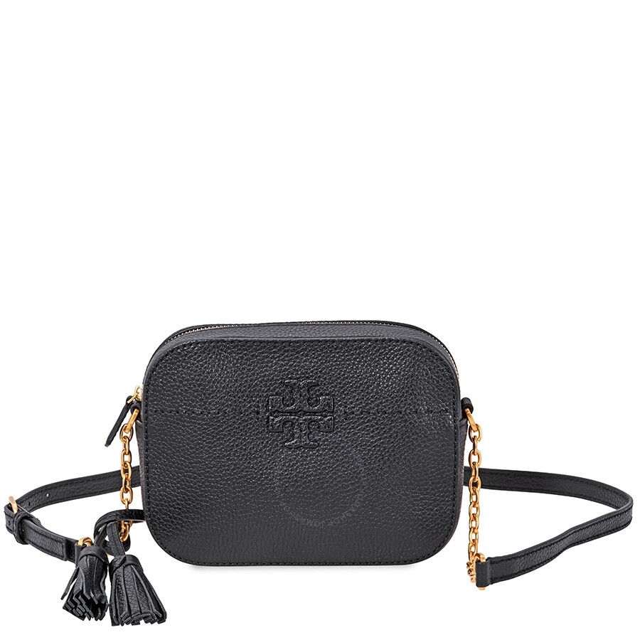 c1ea1f6aea62 Tory Burch McGraw Camera Bag- Black - Tory Burch - Handbags - Jomashop