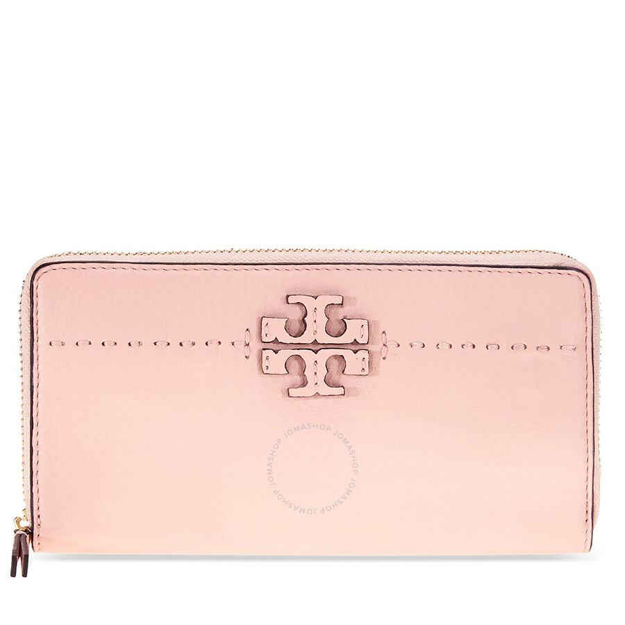 1ad3ac86c835 Tory Burch McGraw Continental Wallet - Pink Quartz Item No. 41847-672