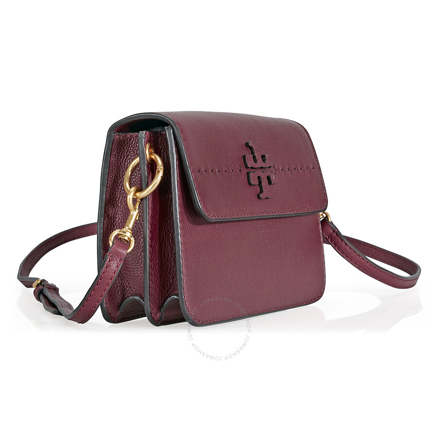 3f3db0f6d760 Tory Burch McGraw Leather Crossbody - Imperial Garnet - Tory Burch ...