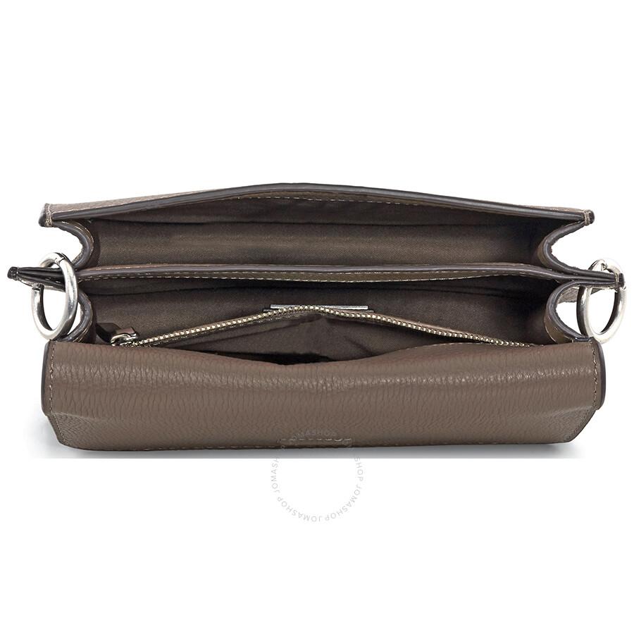 6135ed95d5 Tory Burch McGraw Leather Crossbody - Silver Maple - Tory Burch ...