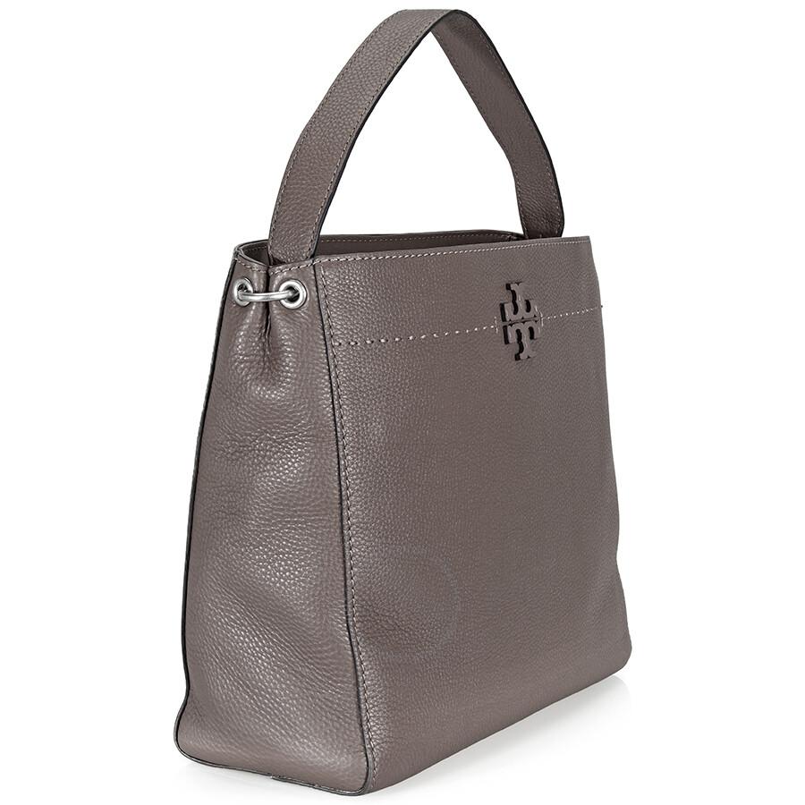 45dcd6b3fea3 Tory Burch McGraw Leather Hobo Bag - Maple - Tory Burch - Handbags ...