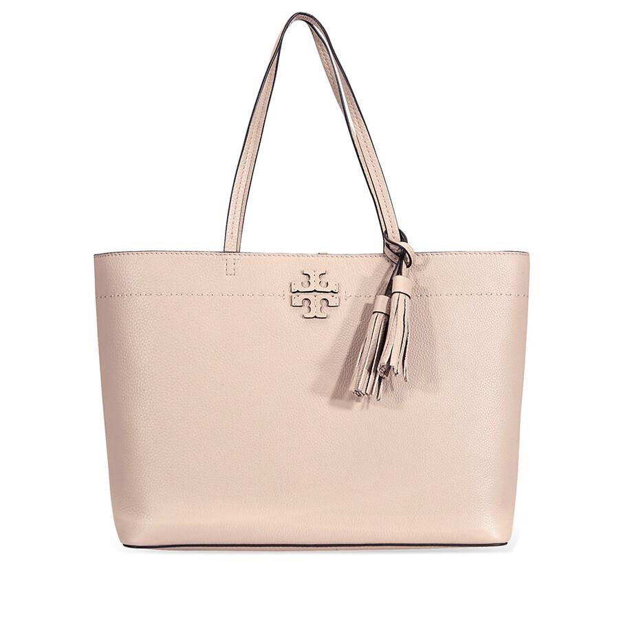 78ef10ef4 Tory Burch McGraw Leather Tote - Devon Sand - Tory Burch - Handbags ...