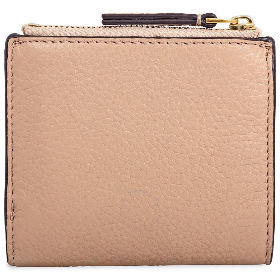 57c072d5f663 Tory Burch McGraw Mini Foldable Wallet- Devon Sand - Tory Burch ...