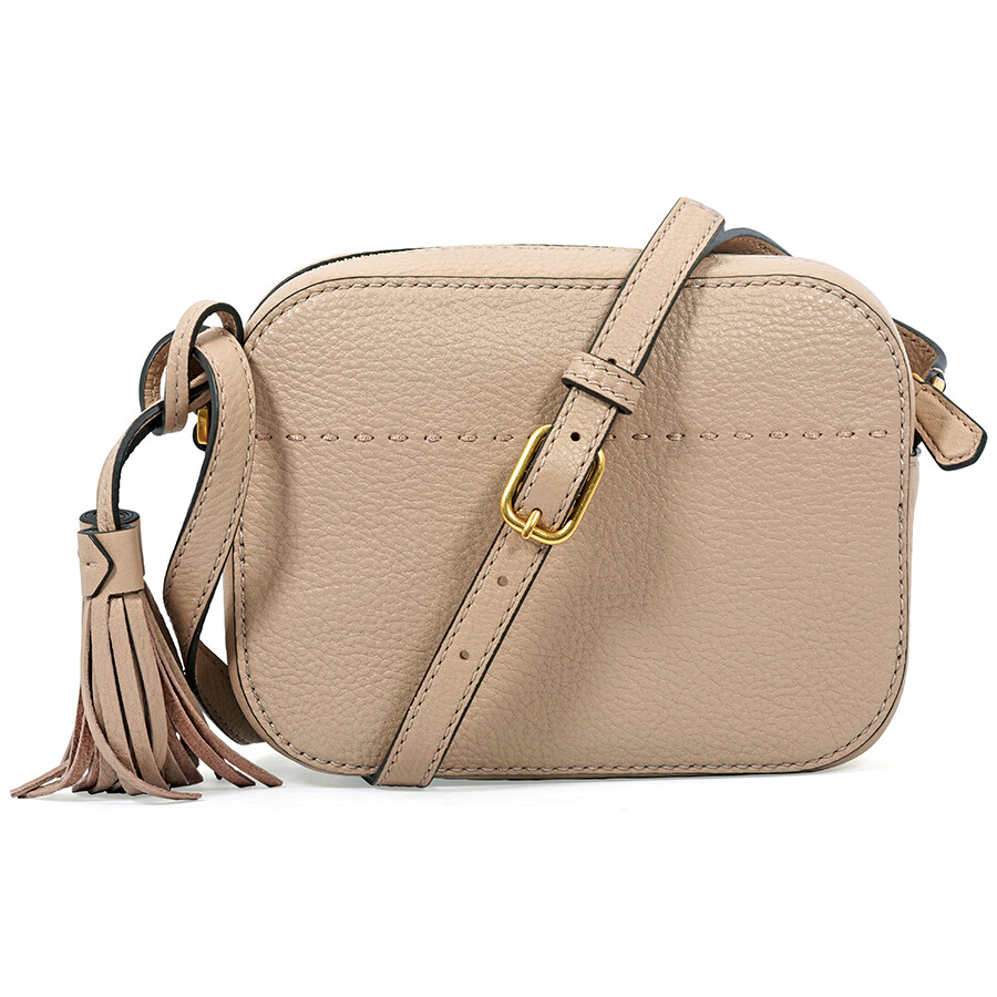 9d61e53f11aa Tory Burch McGraw Pebbled Leather Camera Bag- Devon Sand - Tory ...