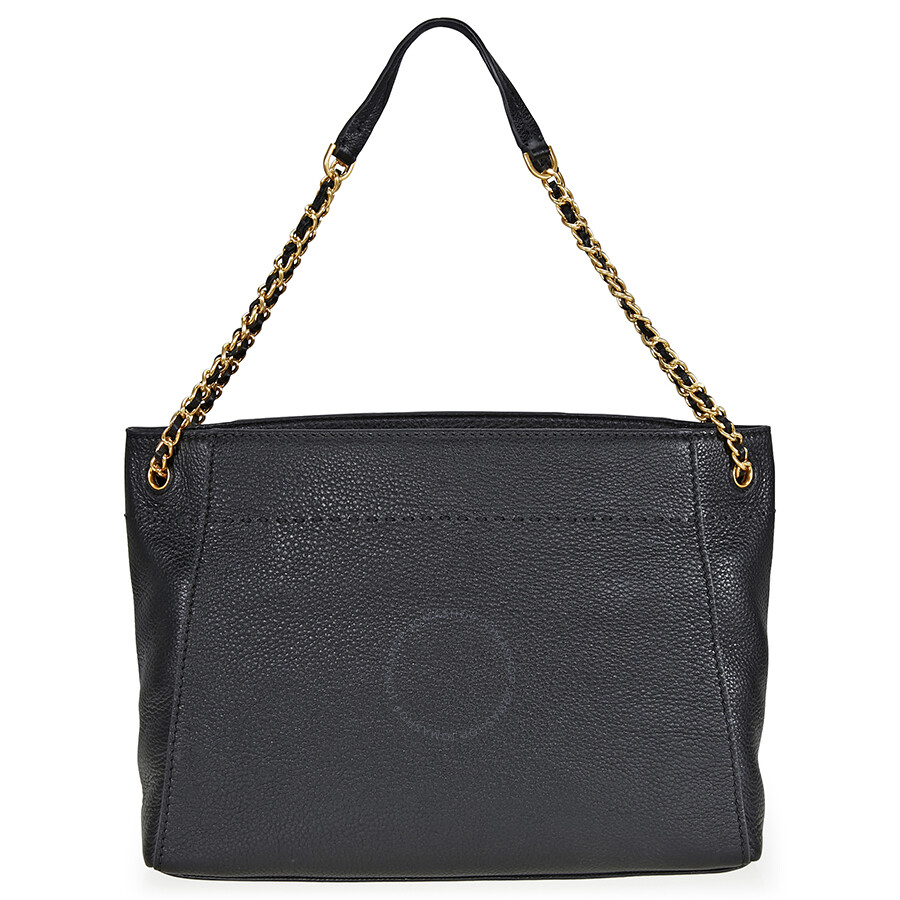 184fb497fa3 Tory Burch McGraw Slouchy Leather Tote - Black Item No. 41780-001