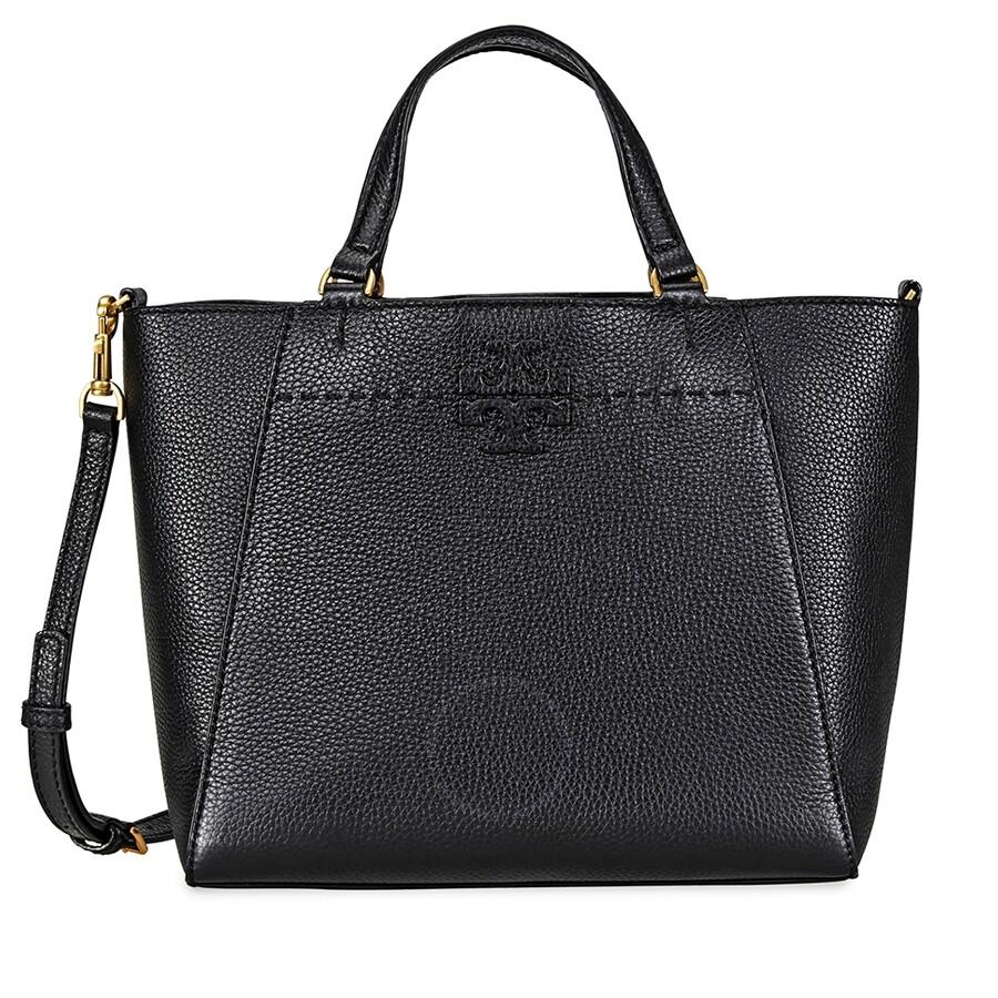 9cc21575aa46 Tory Burch McGraw Small Carryall- Black - Tory Burch - Handbags ...