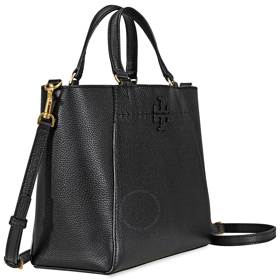 938ee412f93fa Tory Burch McGraw Small Carryall- Black - Tory Burch - Handbags ...