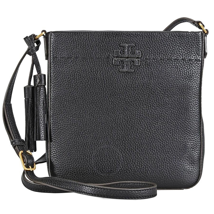 990be965f16 Tory Burch Mcgraw Swingpack- Black - Tory Burch - Handbags - Jomashop