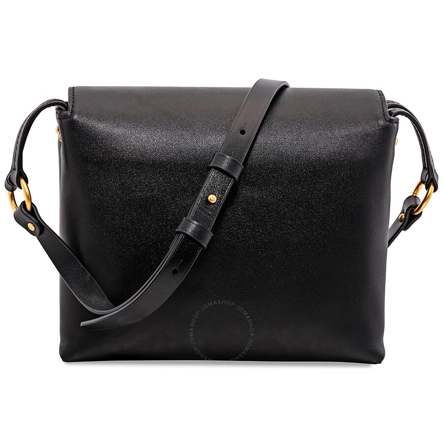 755ad9bf695 Tory Burch Miller Leather Crossbody Bag- Black - Tory Burch ...