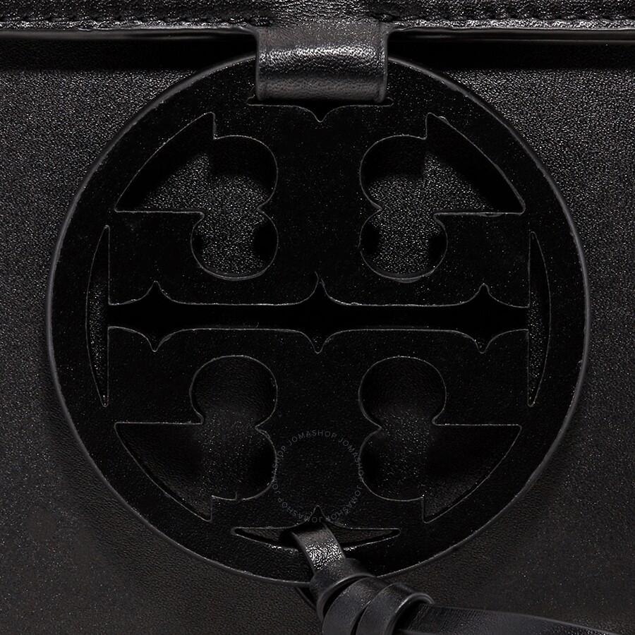 1c1fe9fedb99 Tory Burch Miller Leather Crossbody Bag- Black - Tory Burch ...
