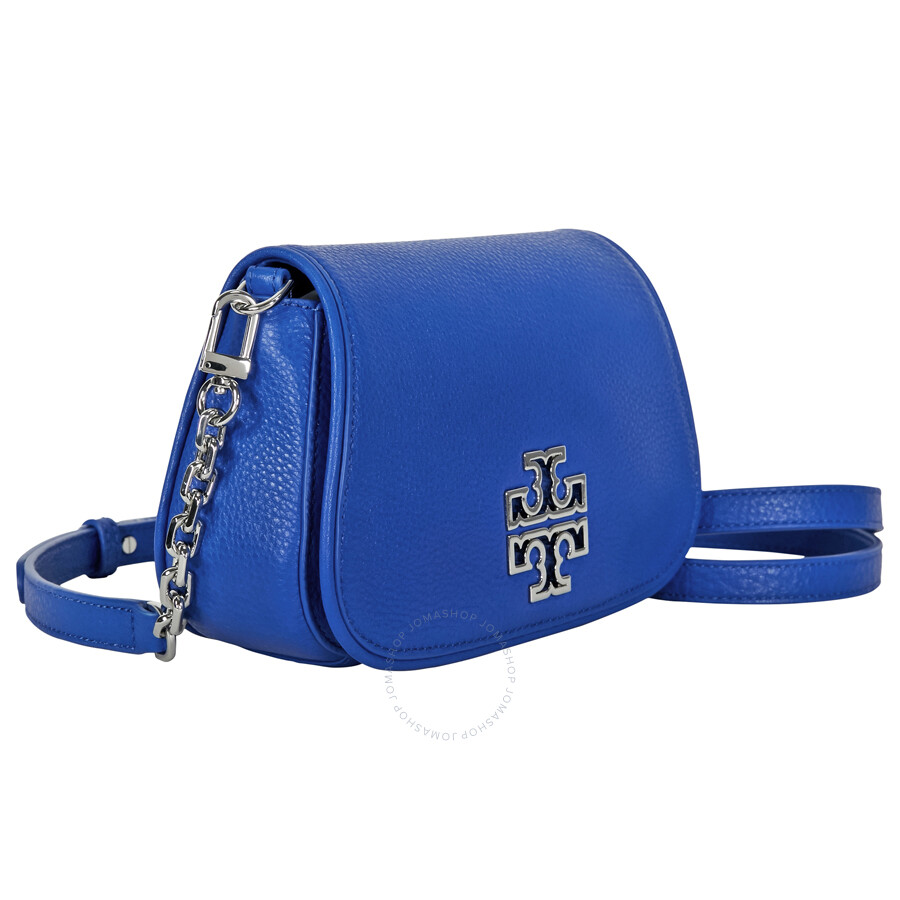 Tory Burch Mini Britten Crossbody - Bondi Blue - Tory Burch ... 7c7a8338b