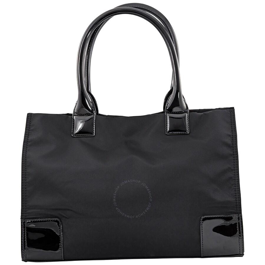 5ca26f9d8c6d Tory Burch Mini Ella Nylon Tote - Black - Tory Burch - Handbags ...