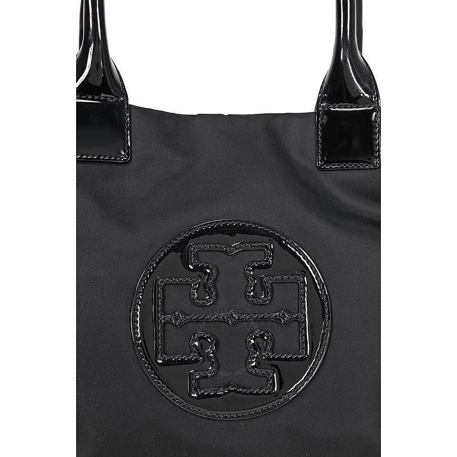 2a9495675048b Tory Burch Mini Ella Nylon Tote - Black - Tory Burch - Handbags ...