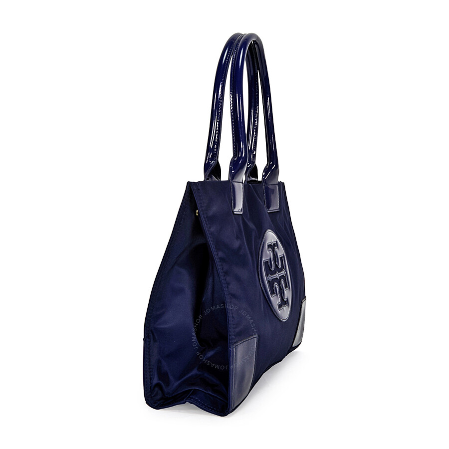 9974afaec9438 Tory Burch Mini Ella Tote - French Navy - Tory Burch - Handbags ...
