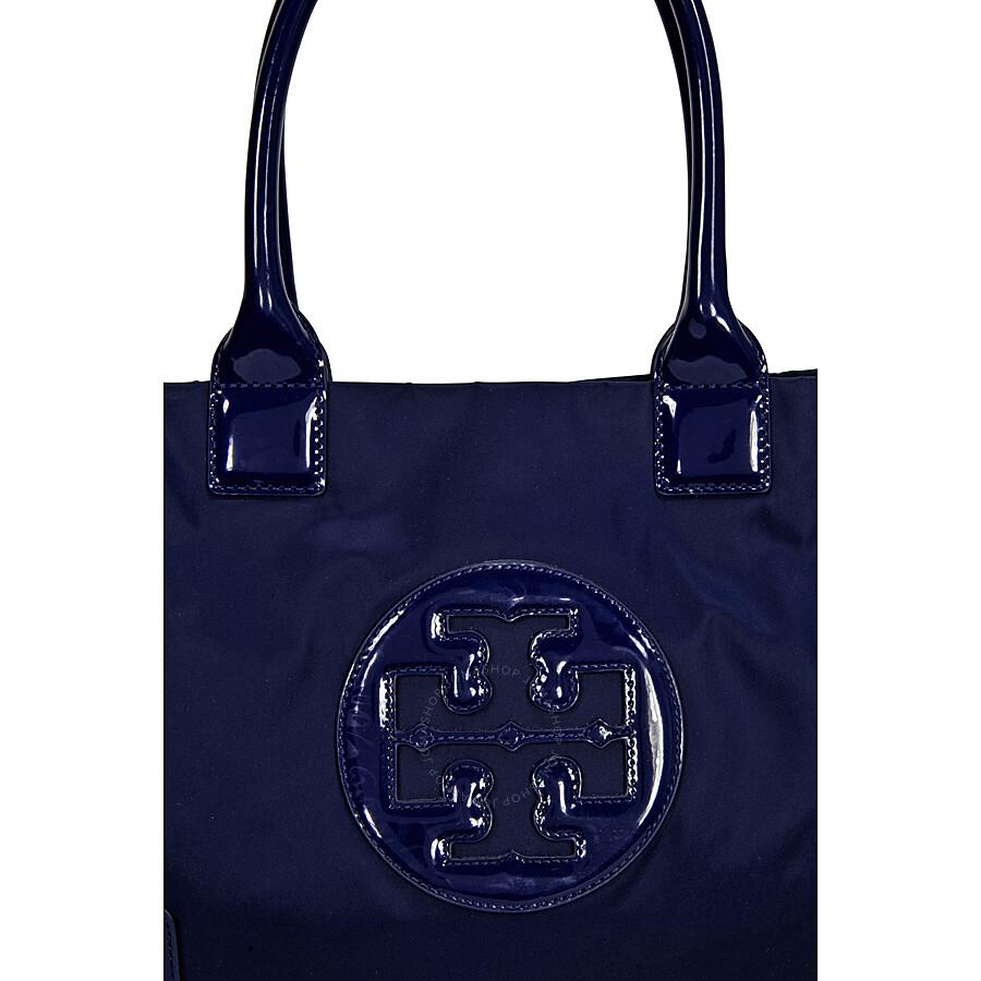 7a5ebeb4a527 Tory Burch Mini Ella Tote - French Navy - Tory Burch - Handbags ...