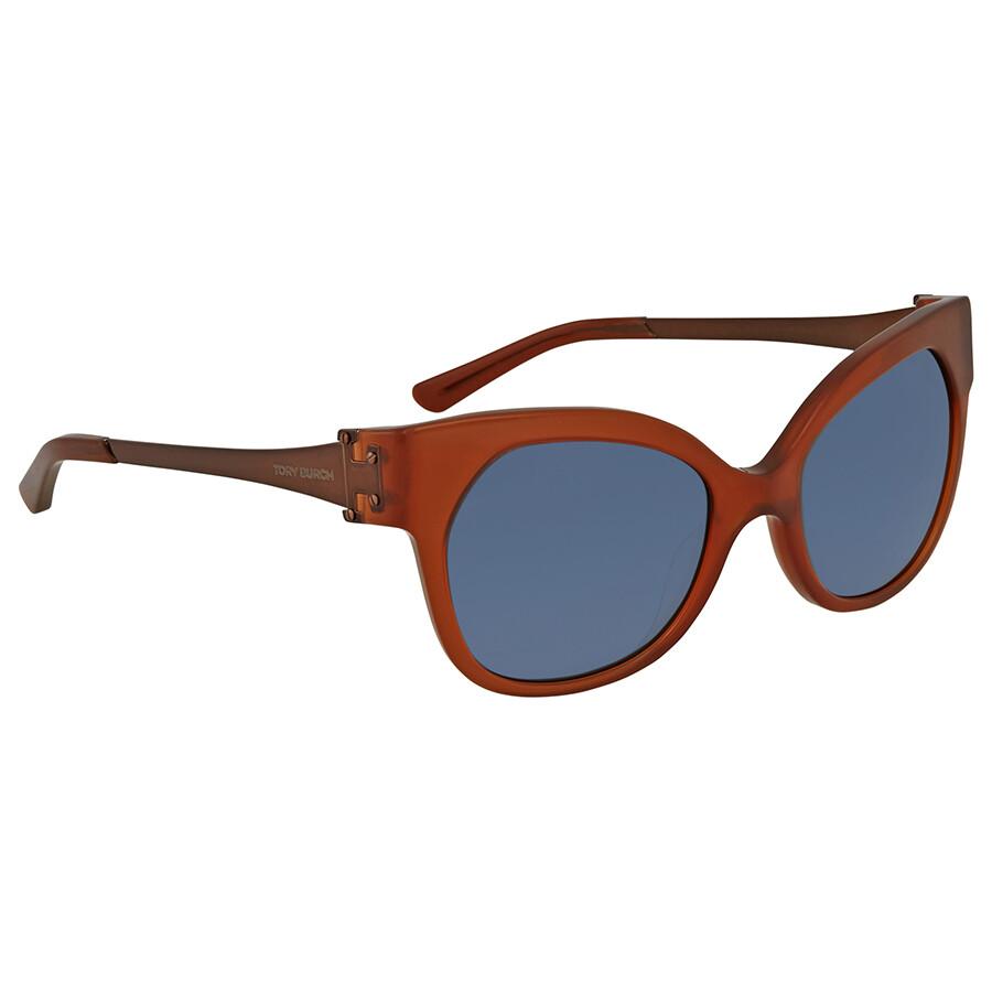 4f1bc419eae Tory Burch Navy Cat Eye Sunglasses TY 7111 167880 52 - Tory Burch ...
