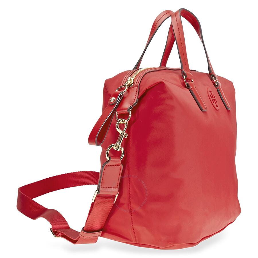 5247a2dd45d Tory Burch Nylon Slouchy Satchel - Tory Burch - Handbags - Jomashop