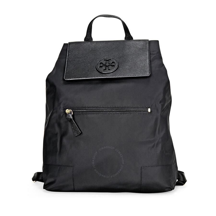f6fb57ba20a Tory Burch Packable Nylon Backpack- Black - Tory Burch - Handbags ...