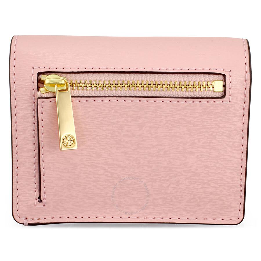 8535f389eb4a Tory Burch Parker Foldable Mini Wallet - Pink Quartz - Tory Burch ...