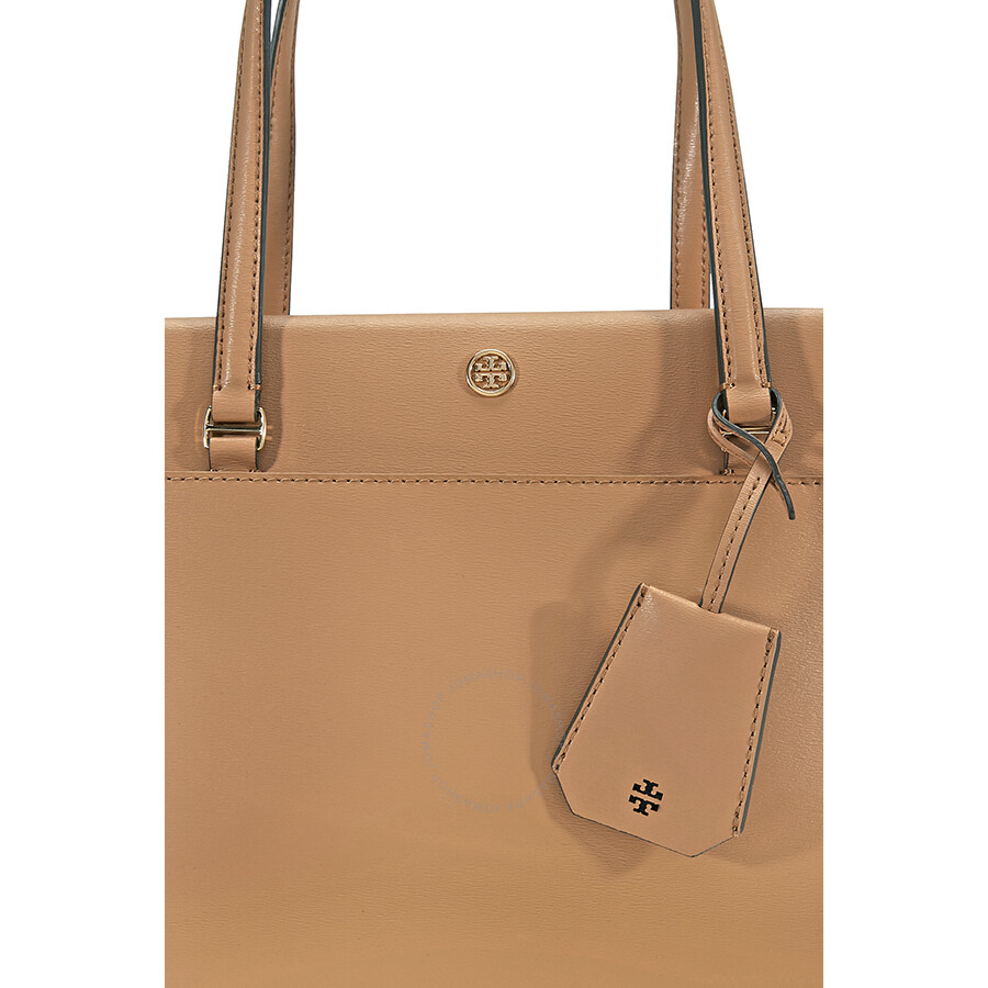 6d797c7c250799 Tory Burch Parker Small Leather Tote - Cardamom / Royal Navy - Tory ...