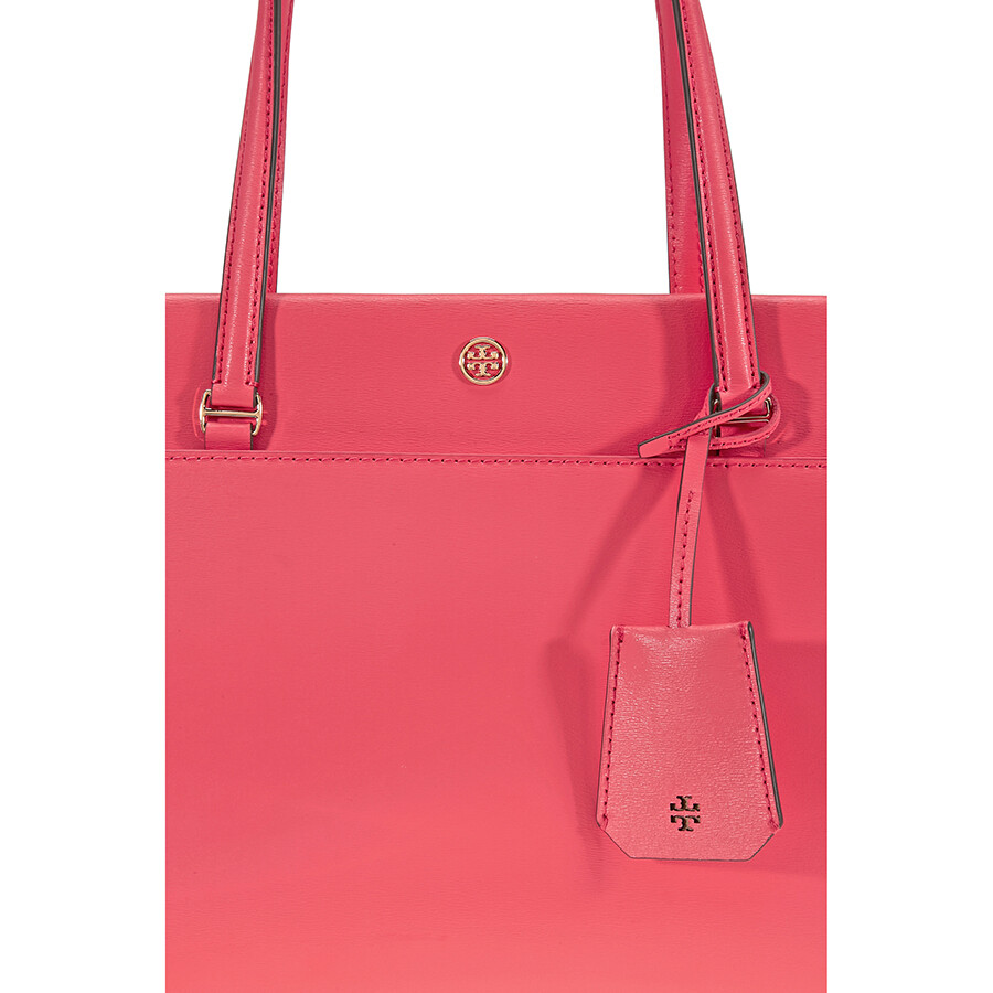 d8200b842c1 Tory Burch Parker Small Leather Tote - Red Ginger   Cardamom - Tory ...