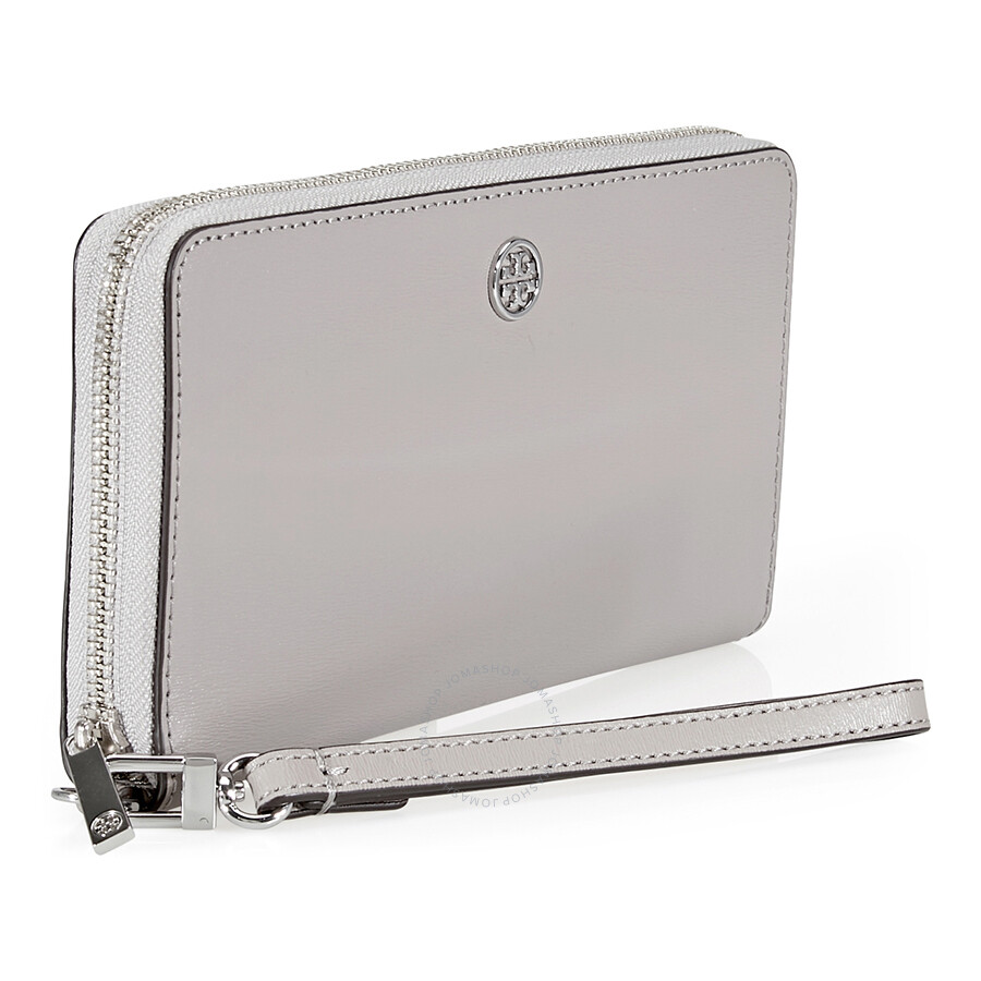 39be178f5d2c Tory Burch Parker Zip Continental Leather Wallet- Dust Storm - Tory ...