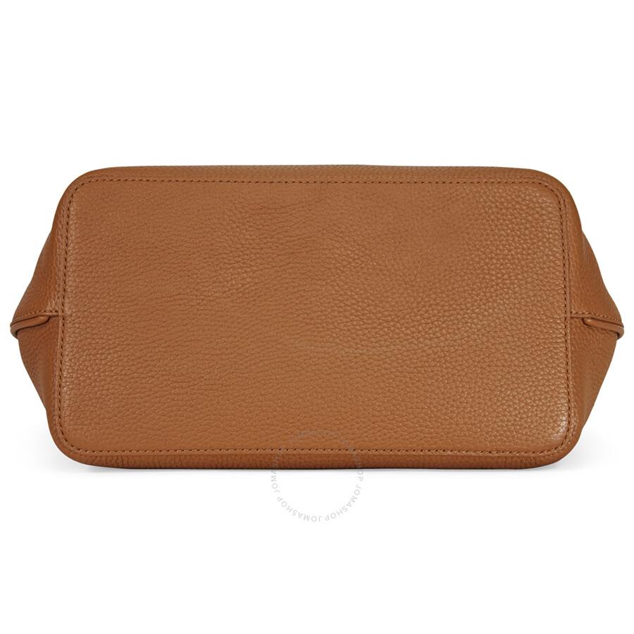 e77def246 Tory Burch Perry Leather Hobo Bag - Bark - Tory Burch - Handbags ...