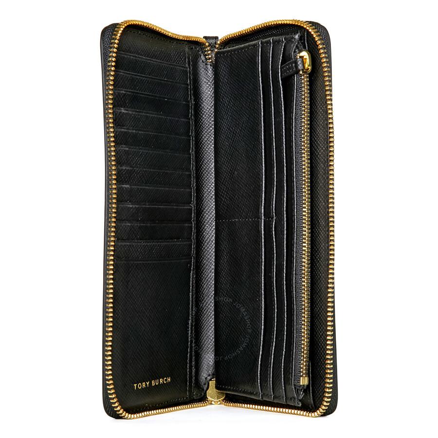 2d658f10e85 Tory Burch Perry Zip Passport Continental Wallet - Black - Tory ...