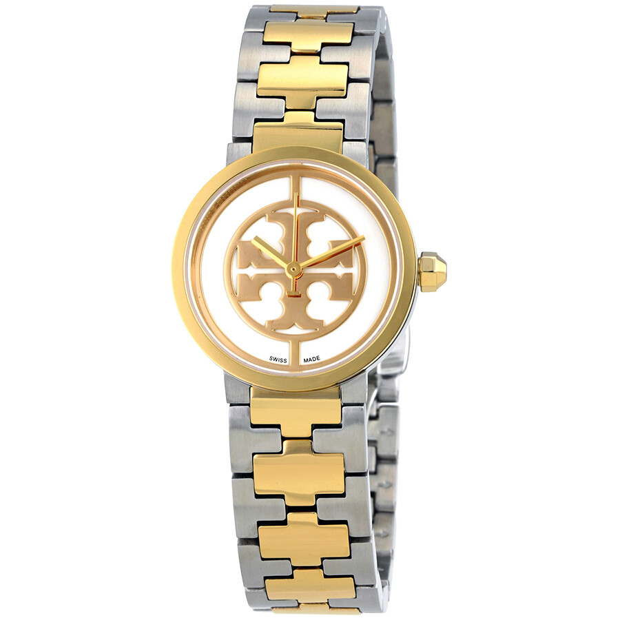 a1c0ad4c4bd Tory Burch Reva Ivory Dial Ladies Watch 4016 - Tory Burch - Watches ...