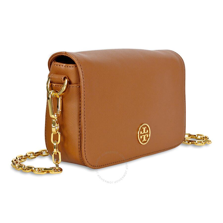 Tory Burch Robinson Chain Mini Bag Luggage