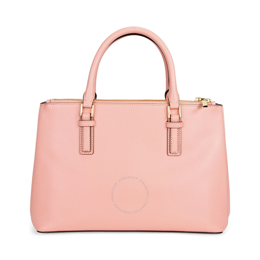 5293ac9b9020 Tory Burch Robinson Mini Double-Zip Tote - Rose Sachet Item No. 11159741