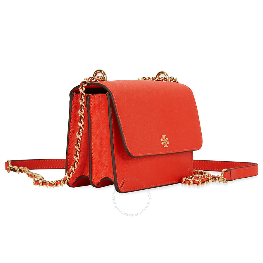 2c6ffd7c4bf Tory Burch Robinson Mini Shoulder Bag - Samba - Tory Burch ...