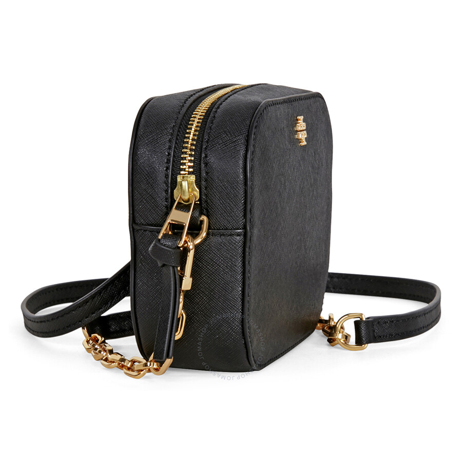 c2272d707b04a Tory Burch Robinson Round Crossbody - Black - Tory Burch - Handbags ...
