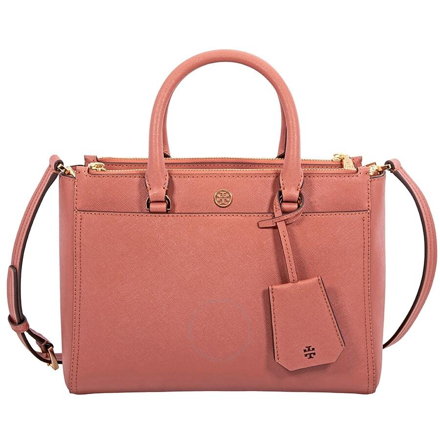 7a3abf90b7a0 Tory Burch Robinson Small Double-ZIp Tote - Tory Burch - Handbags ...