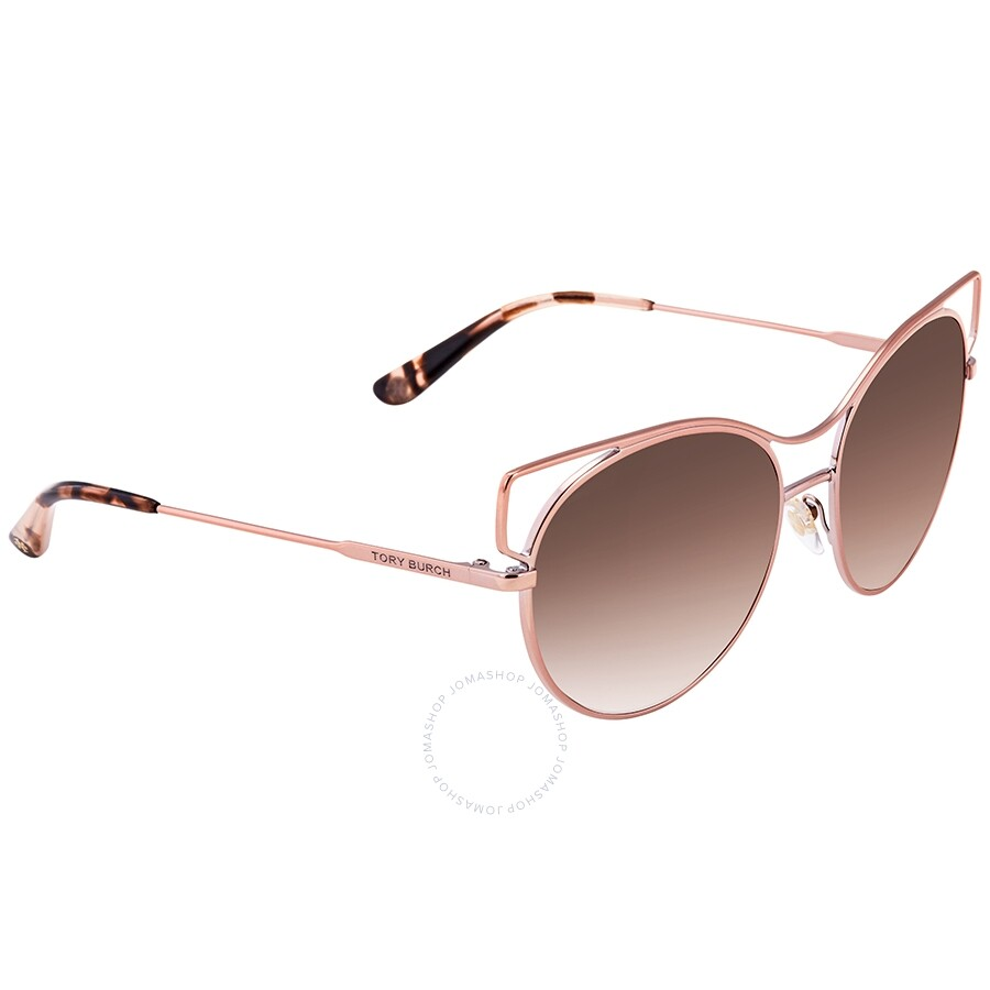 904890f1c Tory Burch Rose Gradient Wire Rim Ladies Sunglasses TY6064 325414 ...