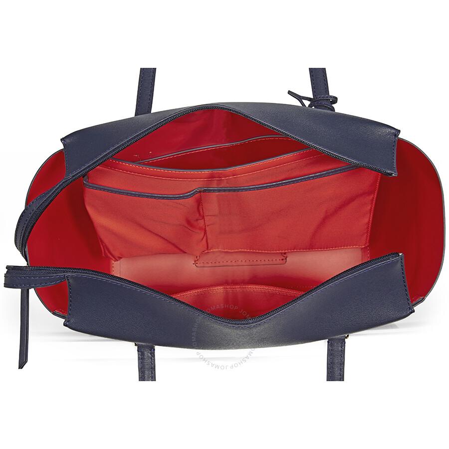 74d14d2ca60f Tory Burch Small Parker Tote - Navy   Samba - Tory Burch - Handbags ...