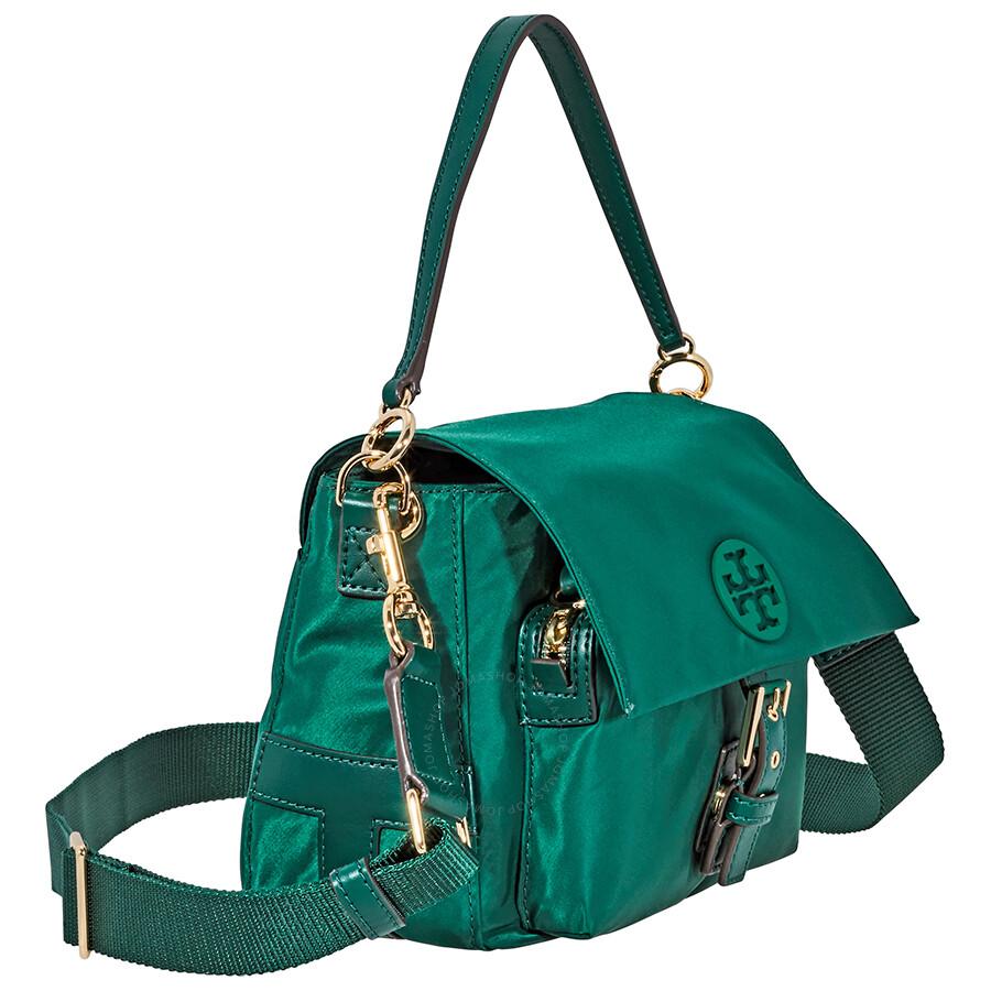 eeb0b87b8d2f Tory Burch Tilda Nylon Crossbody - Malachite - Tory Burch - Handbags ...