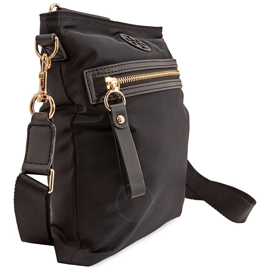 220a82353 Tory Burch Tilda Nylon Swingpack- Black - Tory Burch - Handbags ...