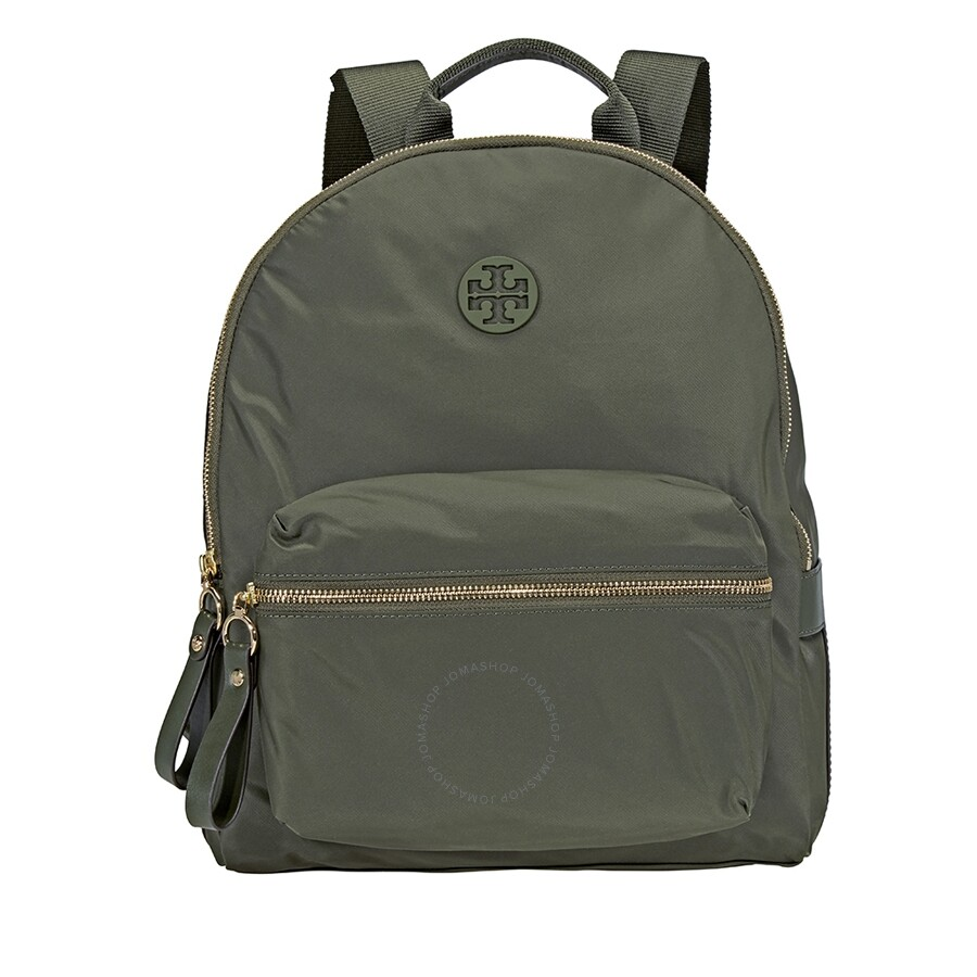 d77bc5540a Tory Burch Tilda Nylon ZIp Backpack- Olive - Tory Burch - Handbags ...