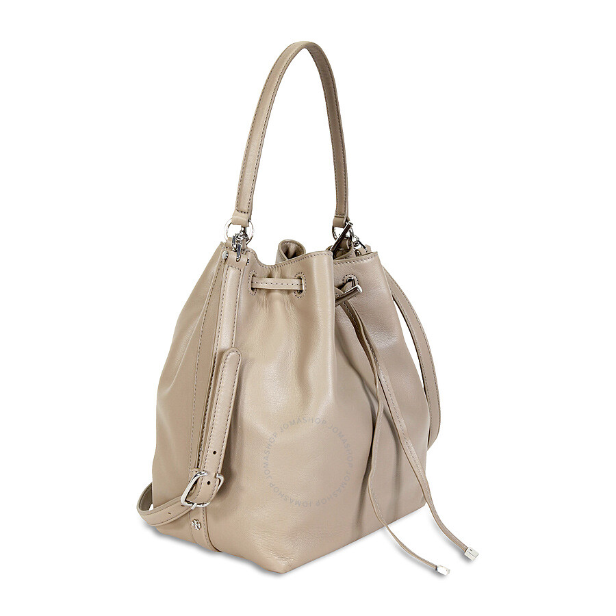 63f31f3290 Tory Burch Toggle Drawstring Bucket Bag - French Gray - Tory Burch ...