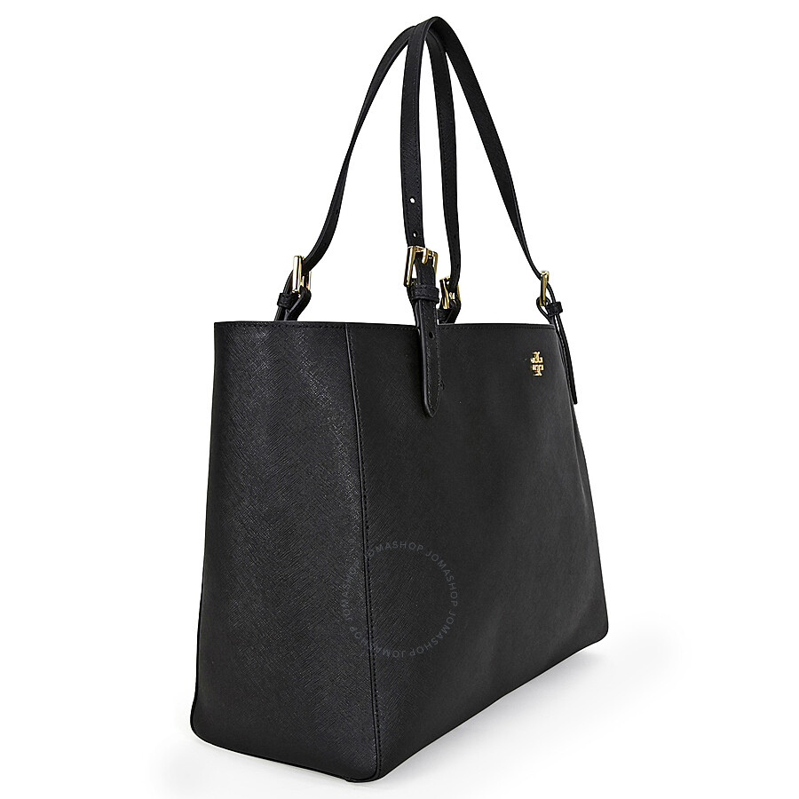 ef216454e17 Tory Burch York Buckle Leather Tote - Black - Tory Burch - Handbags ...