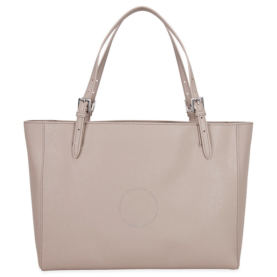 f784e0436ac Tory Burch York Buckle Leather Tote - French Gray - Tory Burch ...