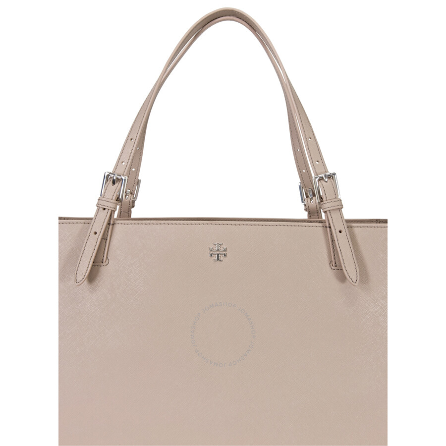 8501fef1b094 Tory Burch York Buckle Leather Tote - French Gray Item No. 22159613-022