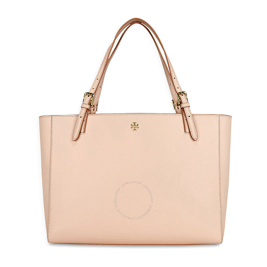 950540c50b4d Tory Burch York Buckle Saffiano Leather Tote - Light Oak Item No.  22149613-208