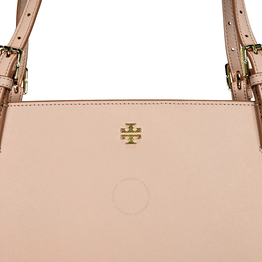 1729b2be008a Tory Burch York Buckle Saffiano Leather Tote - Light Oak - Tory ...