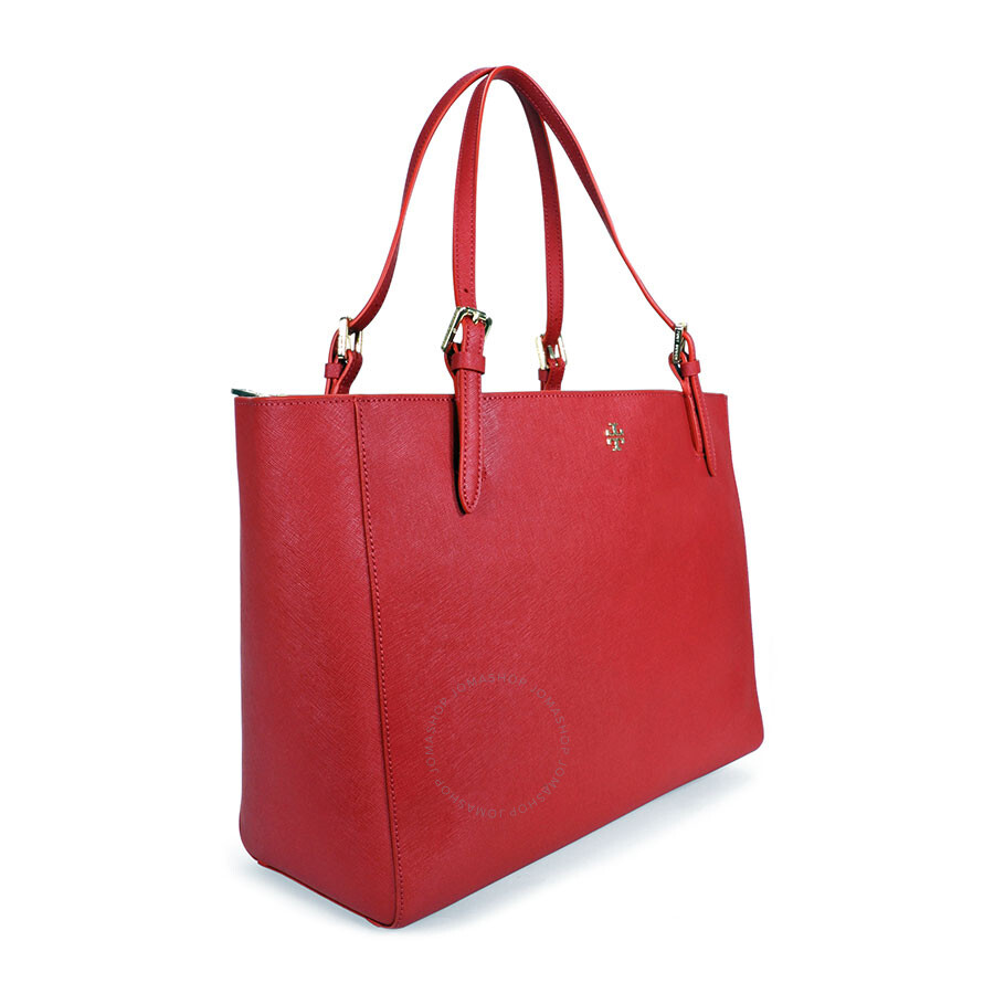 e5a35ddcc28 Tory Burch York Buckle Saffiano Leather Tote - Kir Royale - Tory ...